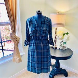 Torrid Plaid Shirt Dress Size 0X